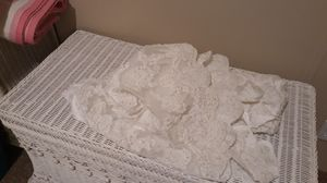 Bridal material cut from a wedding dress veil!!! Its beautiful white broquet! for Sale in Pflugerville, TX
