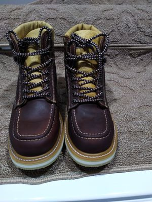 100% Leather Work Boots-Bota 100% de Piel for Sale in Orange, CA