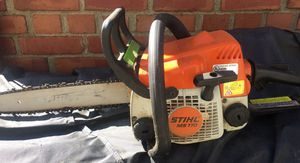 Stihl Chainsaw (MS170) for Sale in Fort Belvoir, VA