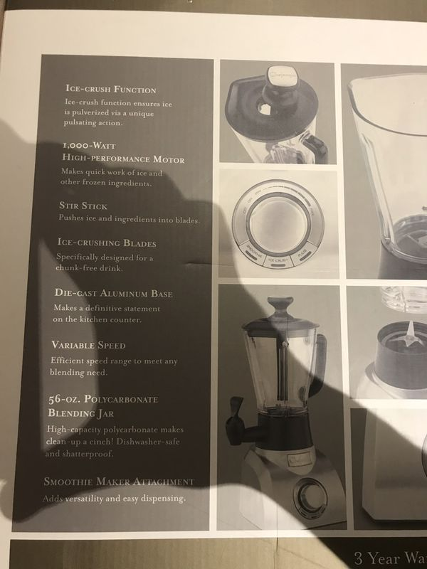 Chefscape blender new in box makes a great gift