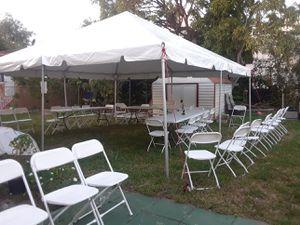 R.e.n.t tent 20x20 all day. Only tent $$130 for Sale in Miami, FL
