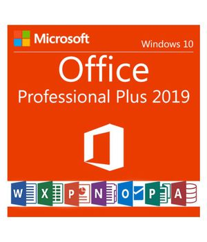 Microsoft office professional plus 2019 for Sale in Cypress, CA