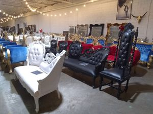 Throne Chair supply for Sale in Dallas, TX