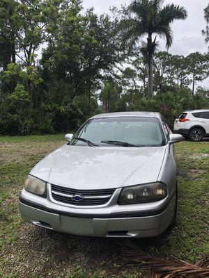 2001 Chevy Impala for Sale in Palm Beach Gardens, FL