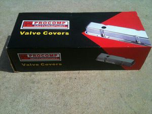 350 Chevy chrome valve covers new in box for Sale in Santa Monica, CA