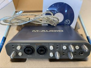 M-Audio Fast Track Pro , 4X4 Mobile USB Audio/MIDI Interface with Preamps for Sale in Edgewood, WA