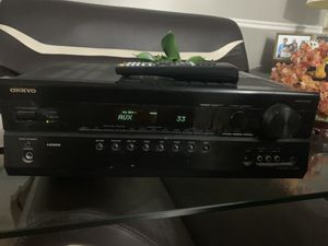 Onkyo HT R580 7.1 Channel Receiver HDMI for Sale in West Chicago, IL