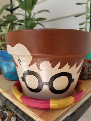 Harry Potter Flower Pot for Sale in Longwood, FL