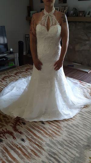 Demetrios wedding dress for Sale in Bartlett, IL
