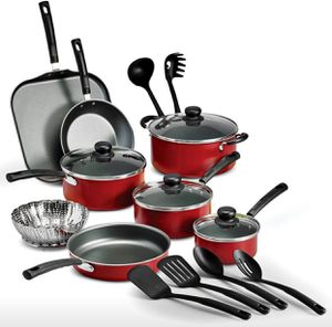 18-Piece Nonstick Cookware Set home kitchen dining furniture refrigerator cooktop pan spoon pot for Sale in Orlando, FL