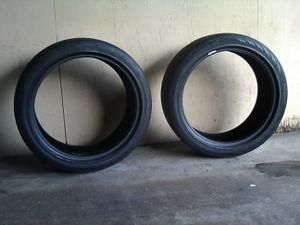 2 Continental tires 235/40 R 19 for Sale in Anaheim, CA