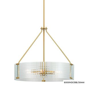 H.D.Coll. Westlyn 5-Light Brushed Brass Chandelier New with defects for Sale in Dallas, TX