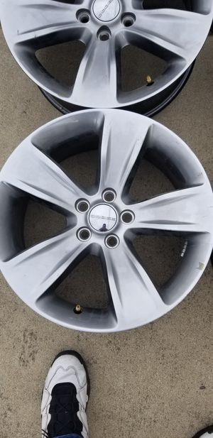 """18"""" rims for a Dodge Challenger or Charger for Sale in Lincoln Park, MI"""