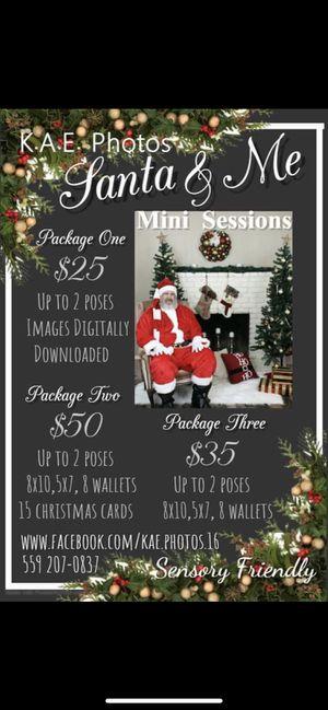 Santa Sessions for Sale in Fresno, CA