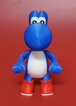 3D Printed Blue Yoshi Collectible Action Figure for Sale in San Diego, CA