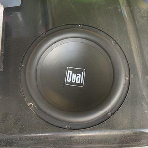 Dual 10inch Subwoofer for Sale in Phoenix, AZ