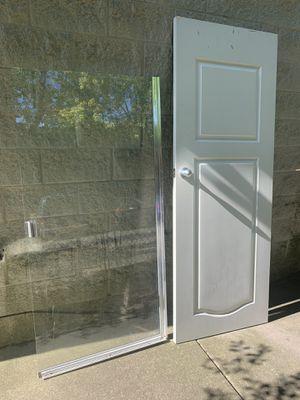 Shower door & interior door for Sale in Chicago, IL