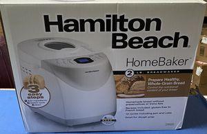 Hamilton Beach 2 lb Digital Bread Maker for Sale in Monterey Park, CA