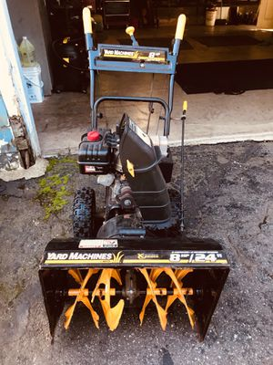 Yard machine snow blower for Sale in Tolland, CT