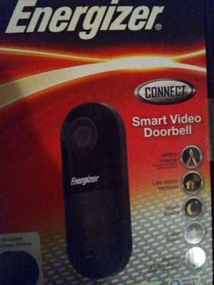 Energizer Connect Video Doorbell for Sale in Overbrook, WV