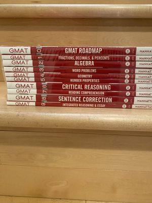 Manhattan Prep GMAT set - brand new for Sale in San Francisco, CA