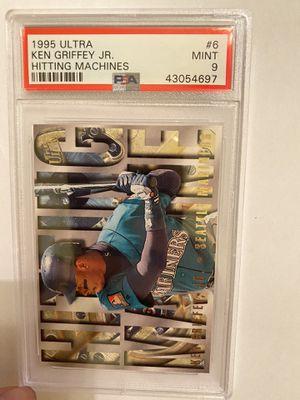 1995 Ultra Ken Griffey Jr Hitting Machines psa 9 pop 3 for Sale in Garden Grove, CA