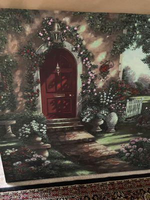 Red door canvas for Sale in Hopkinsville, KY