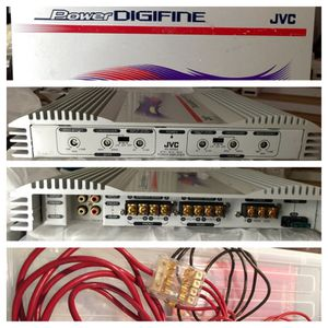 JVC Power Digifine 320 Watt Amp with Crankin Power Cables for Sale in Germantown, MD