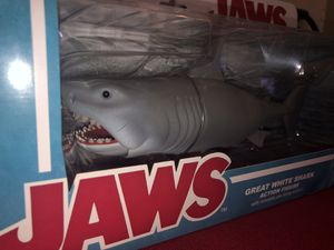 Funko Reaction Jaws Great White Shark Action Figure (IN GREAT SHAPE) for Sale in Miami, FL