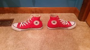 Classic Red High Top Converse for Sale in Belleville, MI