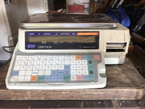 Globe gsp30a food scale with printer for Sale in Bladensburg, MD