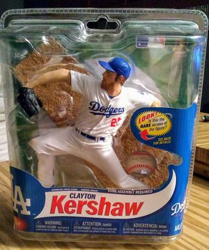 2013 McFarlane MLB Series 31 Clayton Kershaw - $30 for Sale in Moreno Valley, CA