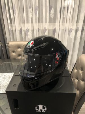 AGV K1 gloss black Large L helmet for Sale in Los Angeles, CA
