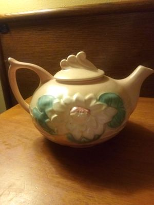 Hull ANTIQUE pottery vases and tea kettle for Sale in Wenatchee, WA