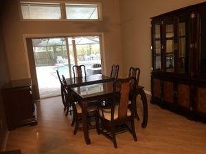 Formal all wood dining room set for Sale in Tampa, FL