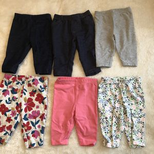 6 Pairs Baby Pants for Sale in Hayward, CA