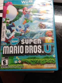 New Super Mario Bros U for Sale in Spring,  TX