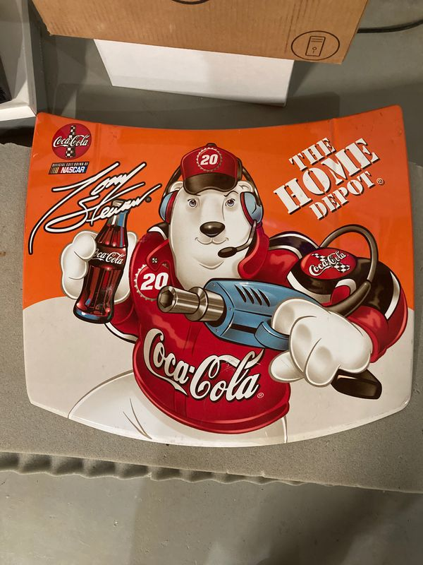 Coca Cola / Tony Stewart polar bear nascar good