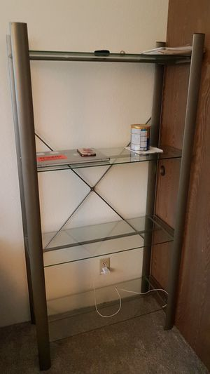 Nice metal shelves 4 layered for Sale in Hayward, CA