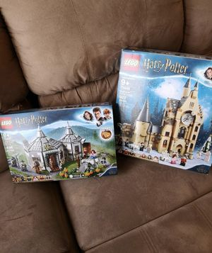 LEGO Harry Potter ClockTower/Hagrids Hut for Sale in Chicago, IL