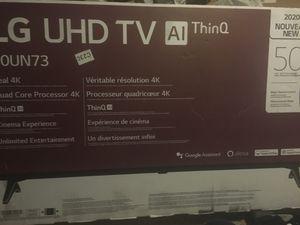 "4k 50"" 2020 LG UHD TV AI ThinQ for Sale in Grosse Ile Township, MI"