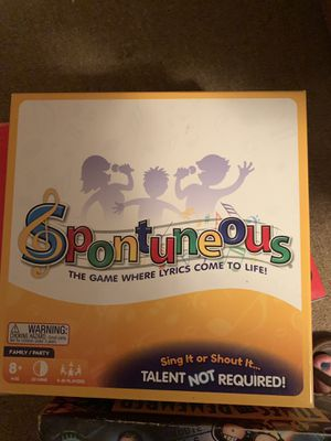 Spontaneous Board Game for Sale in Appleton, WI