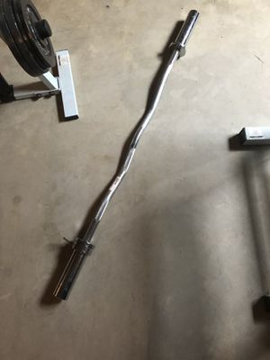 Weight lifting curl bar for Sale in Shorewood, IL