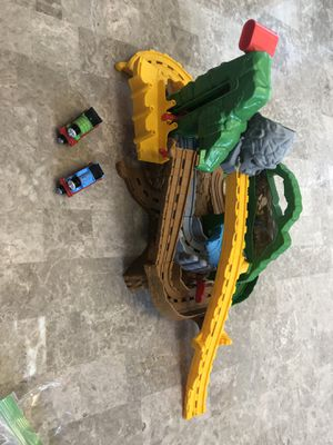 Thomas & Friends JUNGLE QUEST Take-N-Play Playset !! In Hands Ready to Ship Used for Sale in Elgin, IL