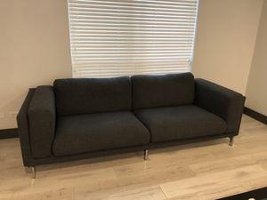 Gray sofa for Sale in Dallas, TX