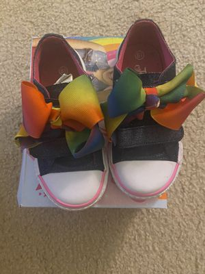 Jojo Bow Shoes Size 8.5 Toddler for Sale in Essex, MD