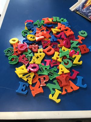 Plastic alphabet magnets for Sale in Louisville, KY