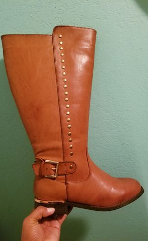 Cloudwalkers Burnt Orange Boots...Size 8 Womens..Brand New!!..Really Cute! for Sale in Modesto, CA