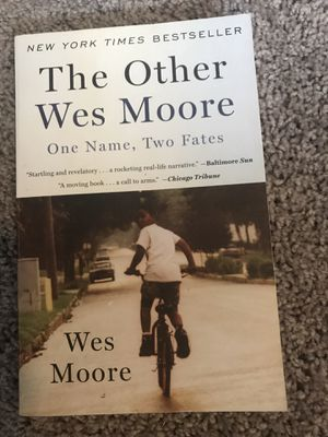 The Other Wes Moore by Wes Moore for Sale in Greenville, NC