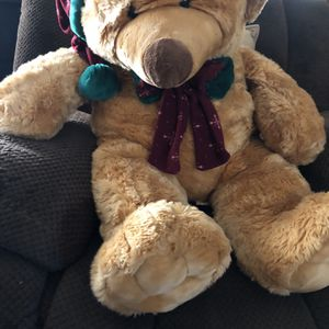 Christmas Big Teddy Bear for Sale in Dallas, TX